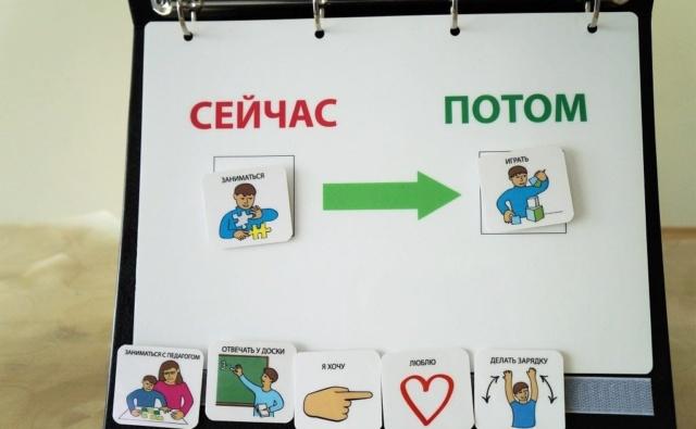 Пример визуального расписания